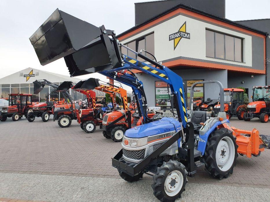Traktor japoński ISEKI SIAL HUNTER 22 KM wspomaganie AWD ładowacz TUR