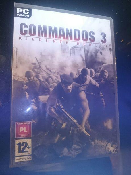 Commandos 3-kierunek Berlin gra pc,pl