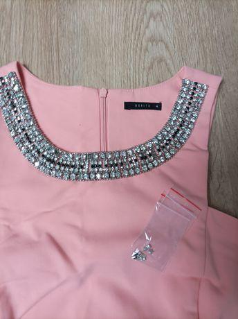 Mohito sukienka kolia koraliki brylancików L