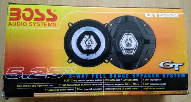 Głośniki Boss GT-552 Car Audio 5.25 ″ 2-drożne głośniki 240 W