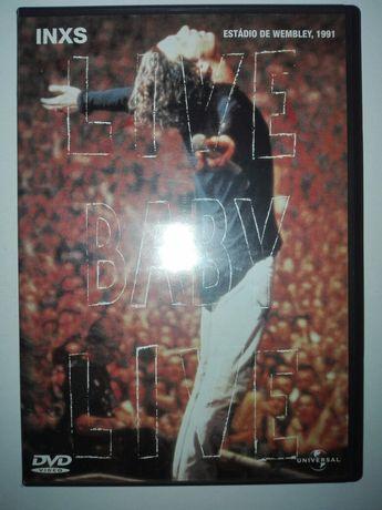 Dvd INXS Estádio de Wembley 1991