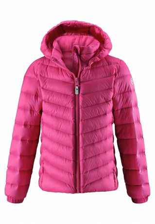 Reima куртка пуховик, тёплая пуховая куртка, р.110-116