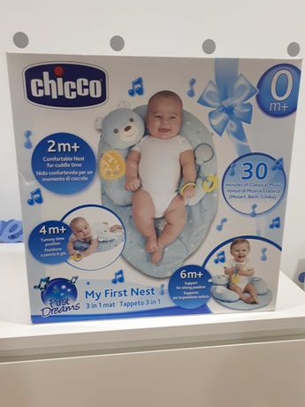 My First Nest Chicco tapete 3 em 1