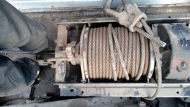 Лебедка КрАЗ - 260, разборка МАЗ