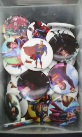 Pin Super-Man super homem