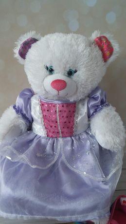 Принцесса мишка, медведь, бренд Build-A-Bear