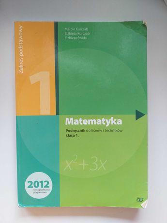 Podręcznik - matematyka - klasa 1