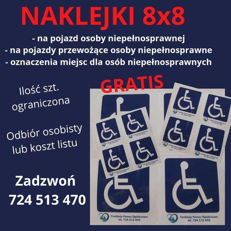Naklejki dla osób niepełnosprawnych