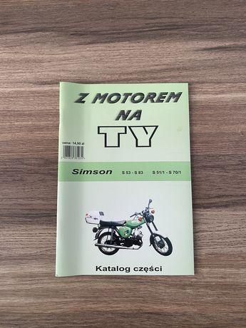 NOWA książka serwisowa SIMSON S51/1 - S 70/1 ; S53 - S83