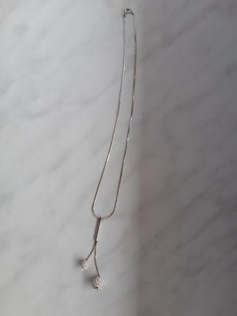 Naszyjnik z zawieszką srebro