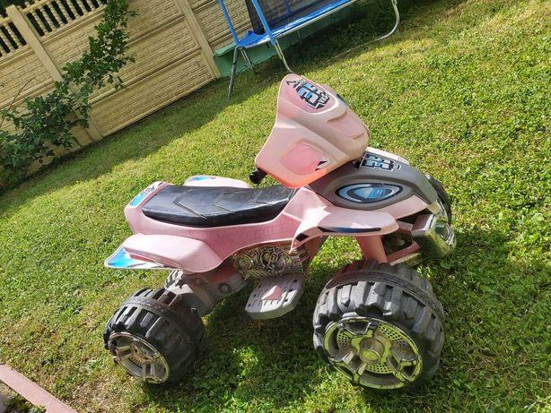 Duży quad dla dzieci na akumulator 12v 2 biegi 2 prędkości