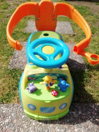 Andador de bebé com sons de animais