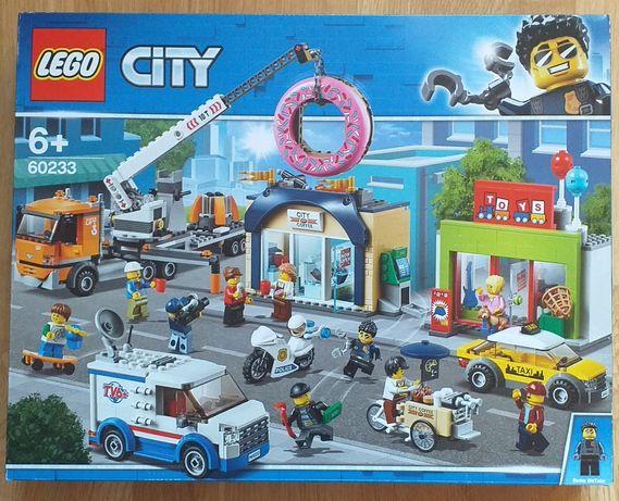LEGO City 60233 Otwarcie sklepu z pączkami