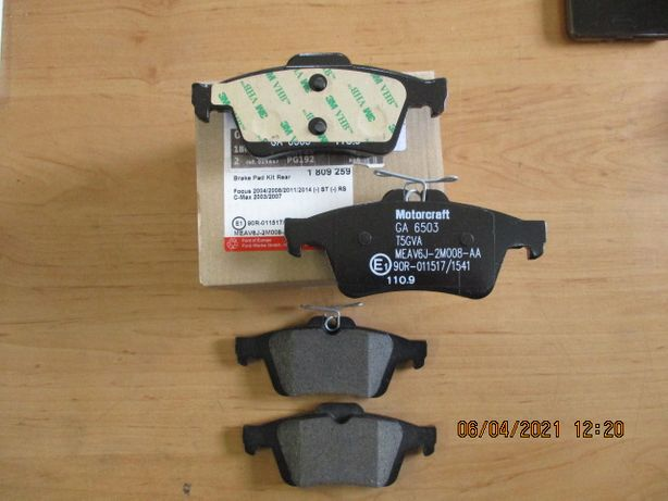 Klocki hamulcowe tył Ford Focus mk3/ C-max