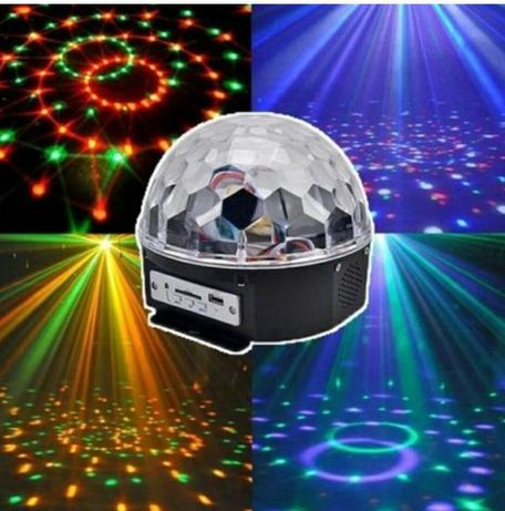 ДИСКО ШАР MUSIC BALL с Bluetooth + флешка и пульт. Дискошар,  есть опт