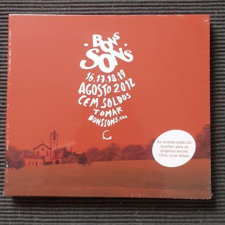 "CD duplo ""Bons Sons 2012"""