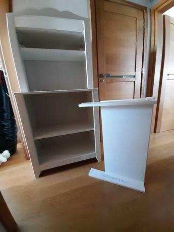 Regał z przewijakiem/przewijak do pokoju dziecięcego IKEA Hensvik