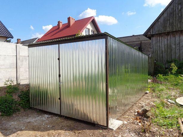 Garaż Blaszany WZMOCNIONY Blaszak Garaże na budowę Blaszaki PRODUCENT!
