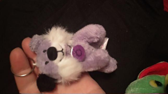 мягкая игрушка рысь фиолетовая вьетнам брелок кошка дикая