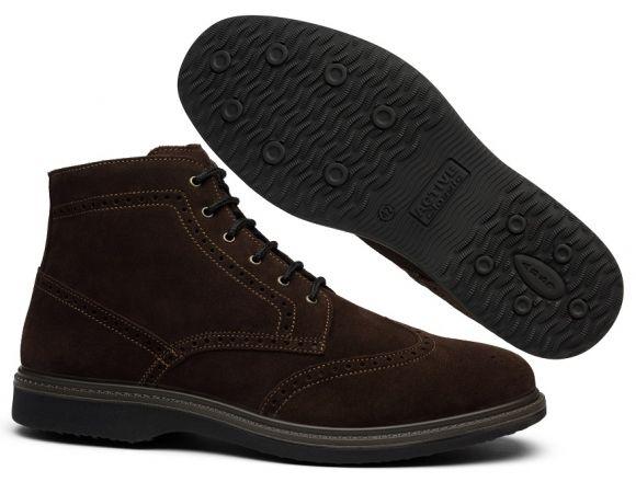Черевики чоловічі броги Grisport 42009A130 коричневі