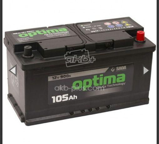 Акумулятятори різного Аh кращі на ринку акумуляторів також БУ 0ptima