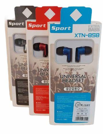 Słuchawki przewodowe douszne jack 3,5 mm kolory 3820 HURT-DETAL