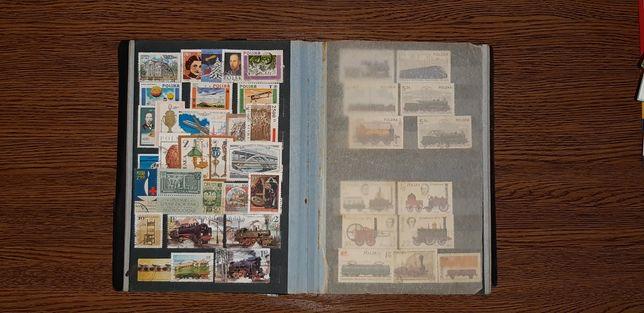 Duża kolekcja znaczków