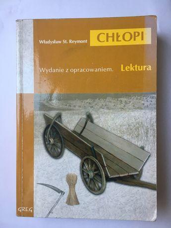 KSIĄŻKA Chłopi Władysław Reymont GREG z opracowaniem