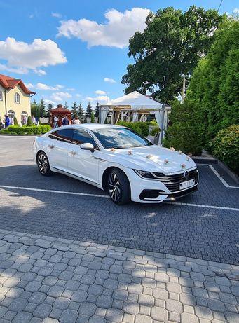 Auto/Samochód do ślubu Biały Arteon R-line