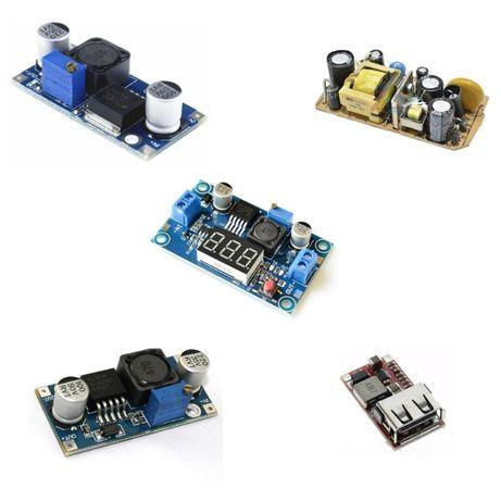 Блок питания, электронные сборки-модули питания, стабилизаторы