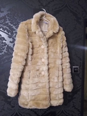 Kożuszek futerko kurtka 40