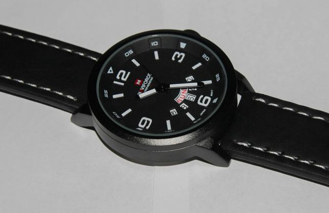 Кварцевые часы Naviforce наручные подарок аналог Orient Citizen Casio