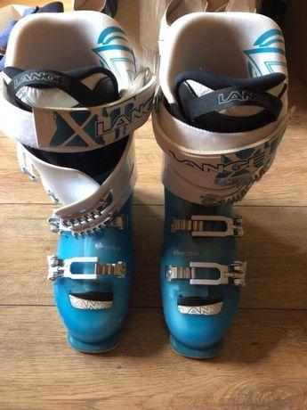 Buty firmy Lange ,w kolorze niebieskim