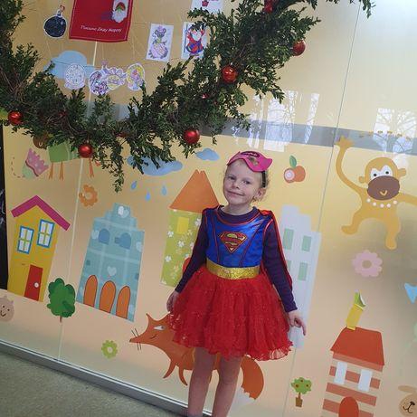 Платье супервумен, костюм Supergirl Superman до 104 см
