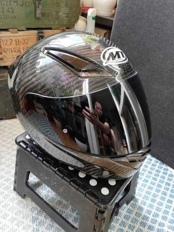 Kask motocyklowy MT PRIVILEGE, karbonowy
