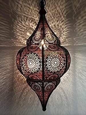 Orientalna lampa marokańska