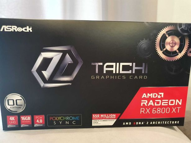 Karta graficzna AsRock RX 6800 XT Taichi X OC 16GB