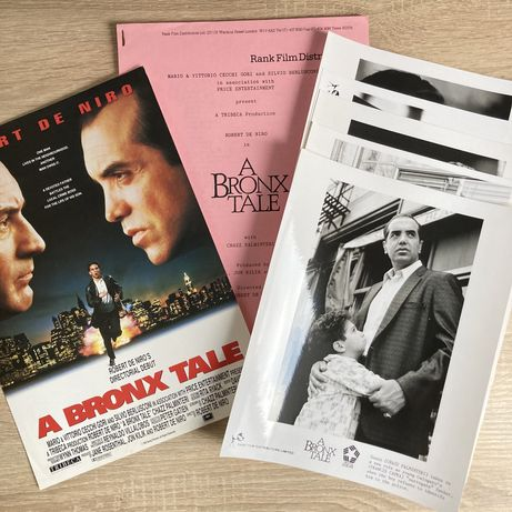 Bronx Tale - De Niro- zdjęcia promocyjne x5- kadry filmowe