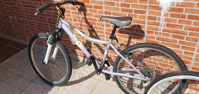 2 Bicicletas Junior Roda 24 Btwin