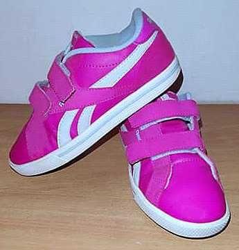 Adidasy REEBOK Różowe Neon dla córci Wiosna lekkie Stan BDB+32