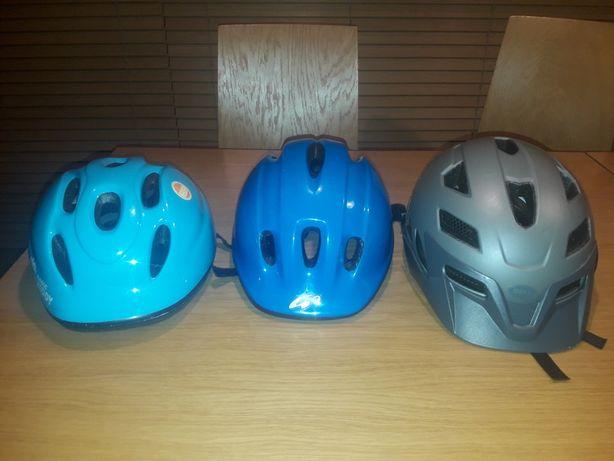 Sprzedam kaski rowerowe dziecięce - różne rozmiary. Mało używane