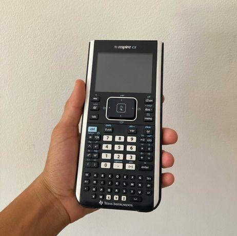 Calculadora Gráfica TEXAS TI-NSPIRE CX + Licença de Software
