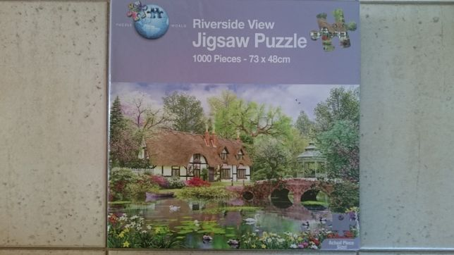 Jigsaw Puzzle 1000 Riverside View