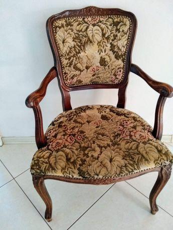 Krzesło w stylu Ludwikowskim Gobelin