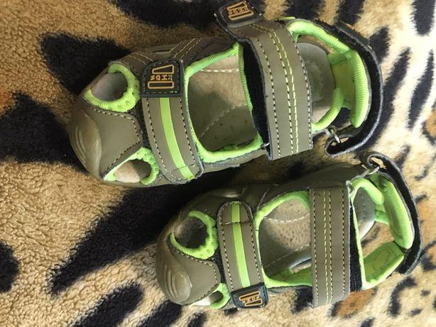 Боссоножки, сандали для мальчика размер 20