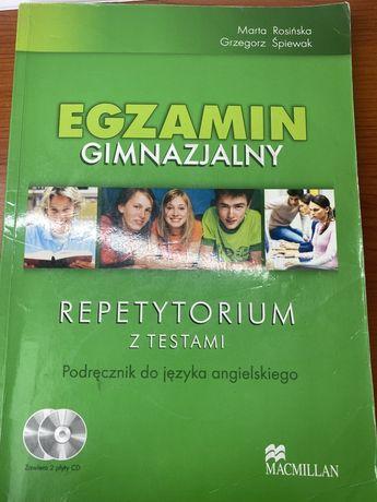 Egzamin gimnazjalny z języka angielskiego. Repetytorium. MACMILLAN