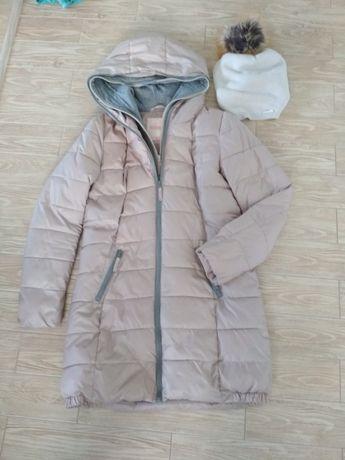 Kurtka plaszczyk płaszcz cropp r. S ciepły gratis czapka