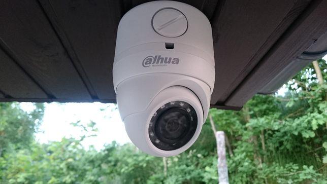 Monitoring Kamera Kamery Rejestrator5mpx Pełny zestaw z montażem 2400