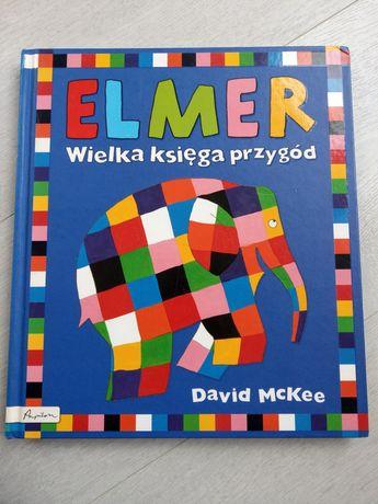 ELMER Wielka księga przygód - David McKee