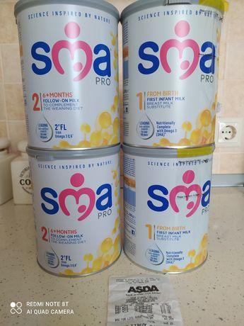 Суміш молочна для немовлят SMA